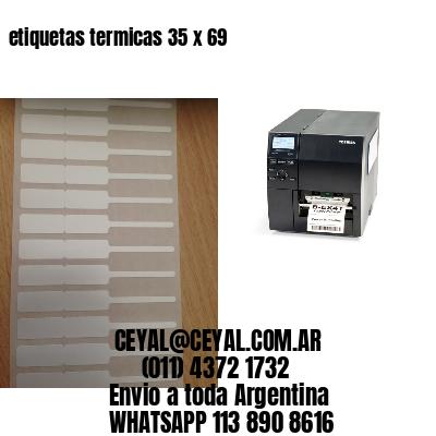 etiquetas termicas 35 x 69