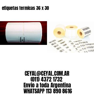 etiquetas termicas 36 x 30