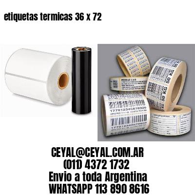 etiquetas termicas 36 x 72